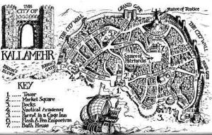Map of Kallamehr
