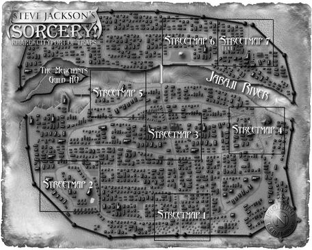 Kharé Map