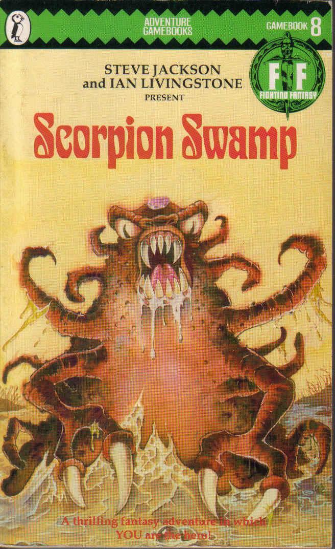 Scorpion Swamp Book Titannica Fandom Powered By Wikia
