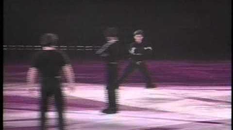 Kurt Browning, Scott Hamilton, Paul Wylie - Masters of Footwork on Ice
