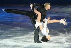 Isabelle Delobel & Olivier Schoenfelder EX Lift - 2007 Europeans