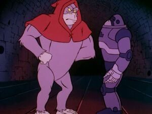 Great Ghost and Robot Gorilla