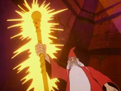 Magic Staff used by Merlin