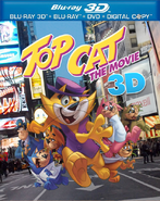 Warner Home Video - Top Cat The Movie - Blu-ray 3D USA box cover (2013)