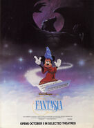 Fantasia re-release 1990 poster