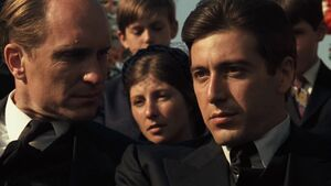 Al Pacino and Robert Duvall in the Godfather