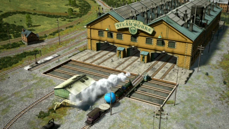 sodor steamworks films tv shows and wildlife wiki