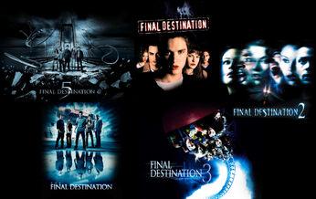 Final Destination Series Collage