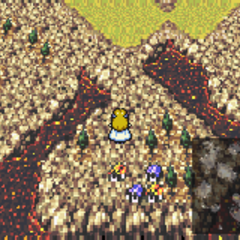 Albrook in the World of Ruin (SNES).