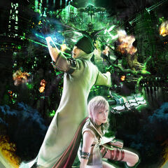 Promotional artwork of Lightning and Snow in the Hanging Edge.