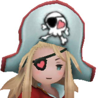 Edea as a Pirate.