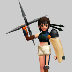 Battle render from <i>Final Fantasy VII Ultimania Omega</i>.