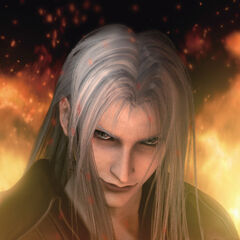 The scene in <i>Final Fantasy VII: Advent Children</i>.