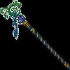 Rikku's rod.