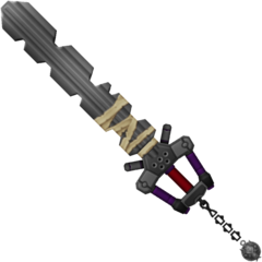 The Fenrir Keyblade.