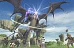 Bahamut fight