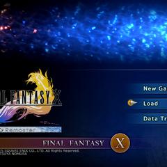 <i>Final Fantasy X HD Remaster</i> (PS4).