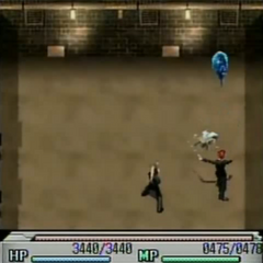 Reno attacking in <i>Before Crisis -Final Fantasy VII</i>.