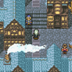 Narshe in the World of Balance (GBA).