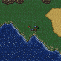 Albrook in the World of Balance (SNES).