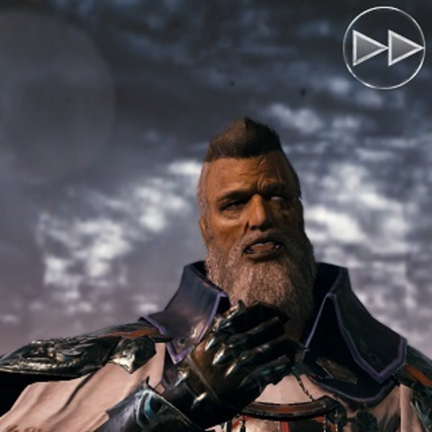 Cid in <i>Mobius Final Fantasy</i>.