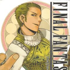 Balthier on the cover of the <i>Final Fantasy XII</i> manga, Vol. 3.