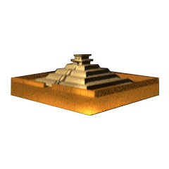 The miniature version of the temple as seen in the fourth disc of the <a href=