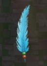 LRFFXIII Blue Feather Pin