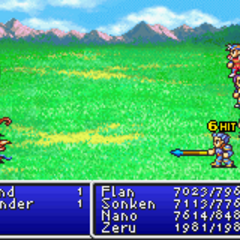 Mythril Spear in <i>Final Fantasy II</i> (GBA).