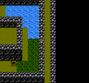 FFII NES Hidden Passage