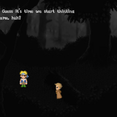 Phantom Forest as seen from Shadow's dreaming flashbacks (iOS/Android/PC).