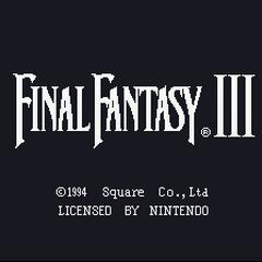 <i>Final Fantasy III</i><span class=