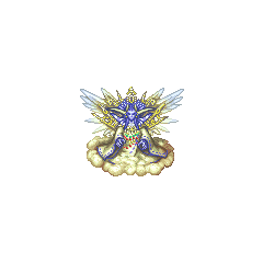 The Emperor of Heaven's map sprite (PSP).