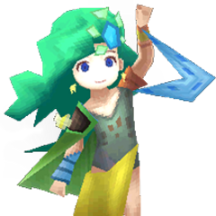 Little Rydia render (iOS).