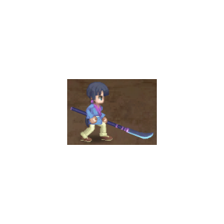 Seiryu's humanoid appearance when fighting the party.