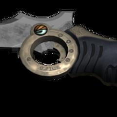 Lightning's survival knife, a birthday present from Serah.