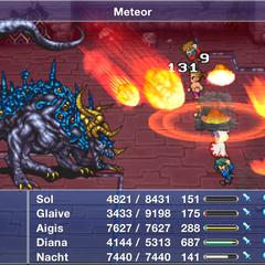 Ω Weapon using Meteor.