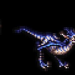 Giant Lizard & Raptor.