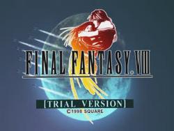 FFVIII Trial Version