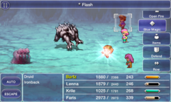 FFV iOS Flash