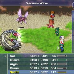 Vacuum Wave