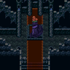 Inside Darill's Tomb (SNES).