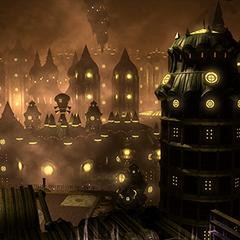 A goblin city within the Midas sector