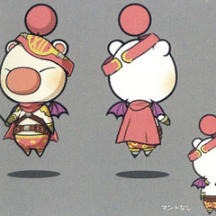 Artwork of the moogle of Class Seventh.