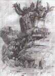 Midgar 500 Years Later FFVII Sketch