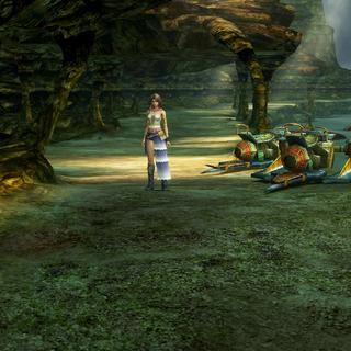 Djose Highroad in <i>Final Fantasy X-2</i>.
