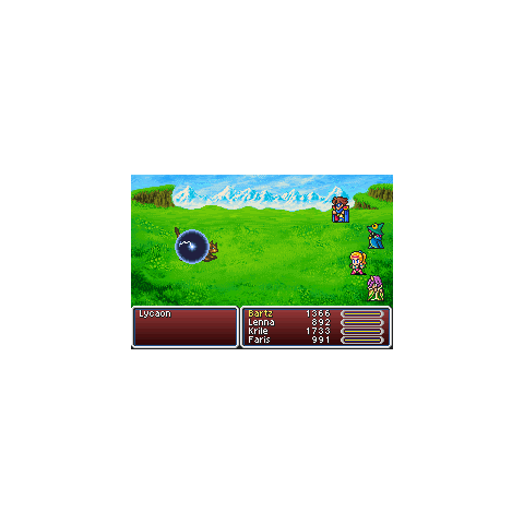 Level 4 Graviga in the GBA version.