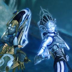 The Shiva Sisters.