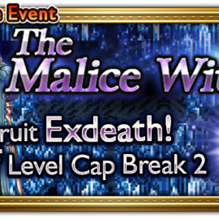 Global event banner for The Malice Within.