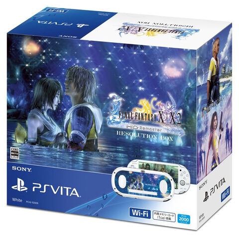 PS Vita package.